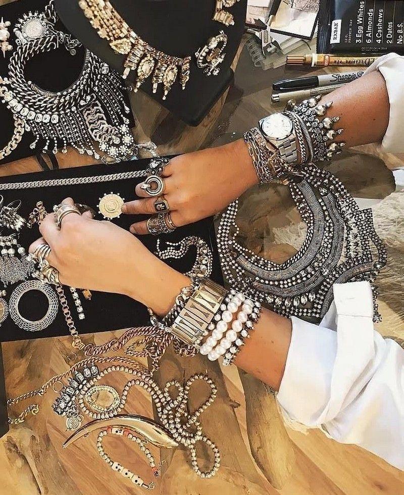 White gypsy earring tribal tribe hippie chic boho silver hook