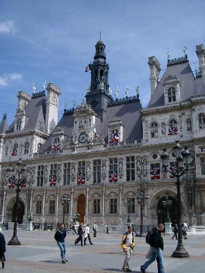 Hotel De Ville Paris City Paris City Hall