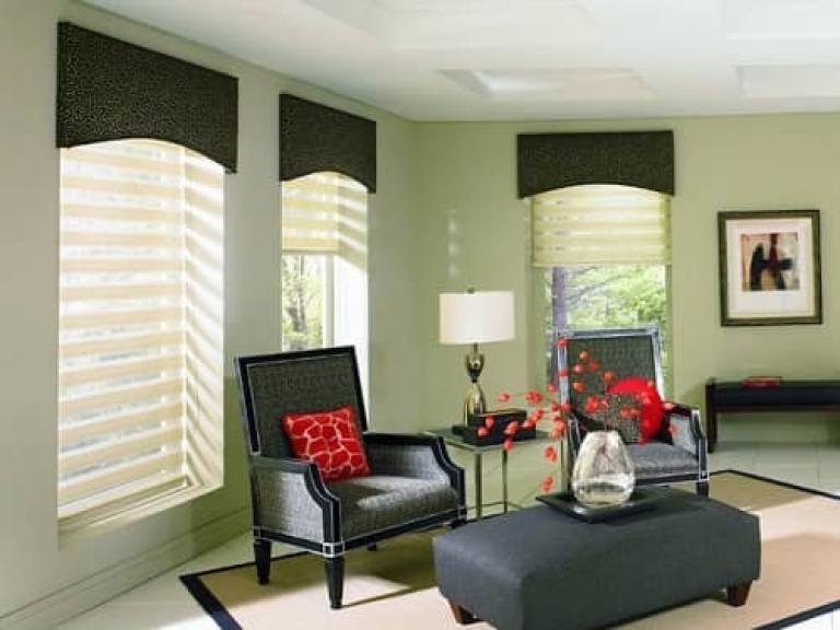 10 Admirable Modern Valances For Living Room Decoration