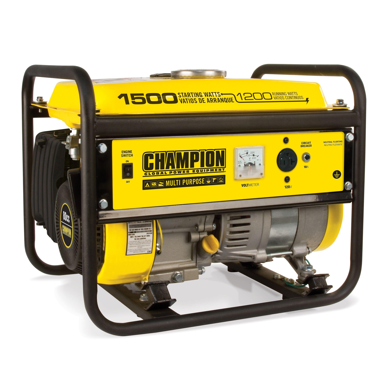 Champion Power Equipment 1200 Watt Multi Purpose Portable