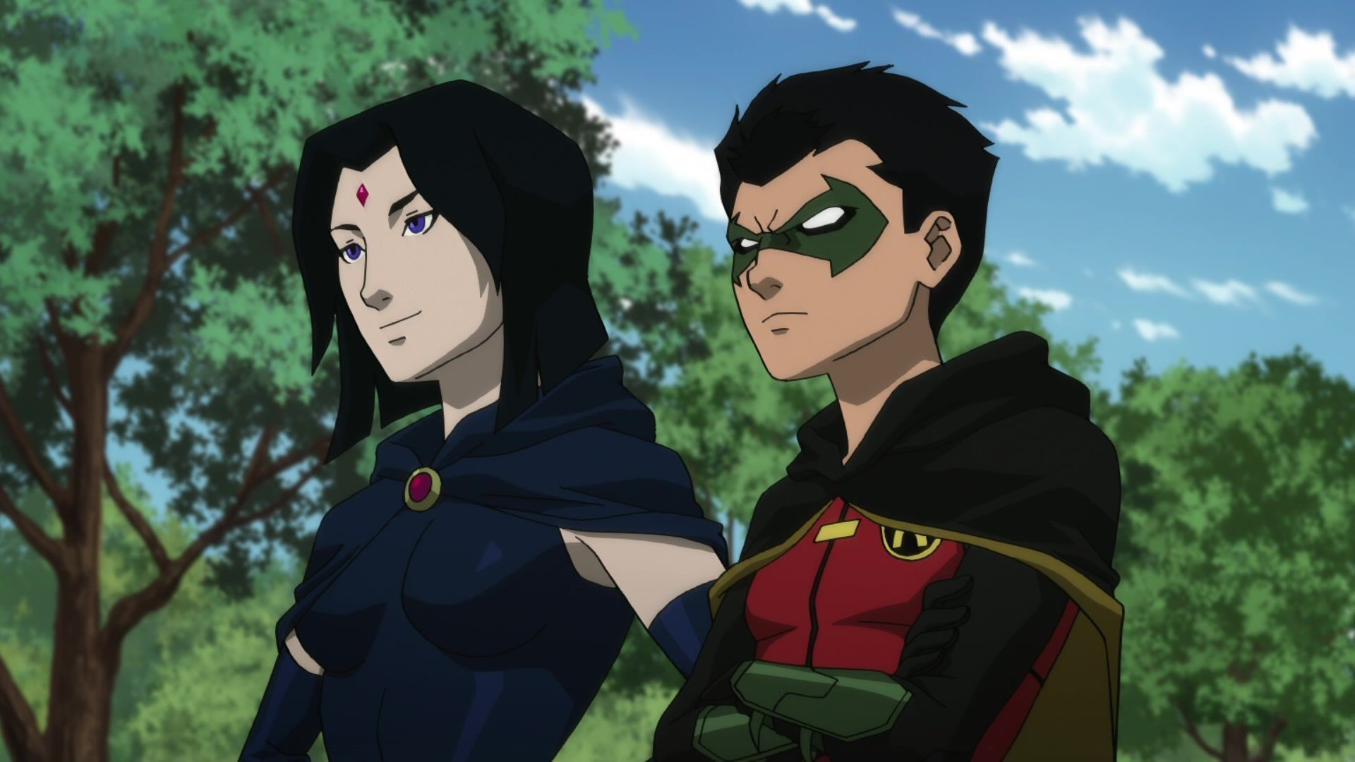 Teen Titans The Judas Contract - Raven And Damian  Teen -3243