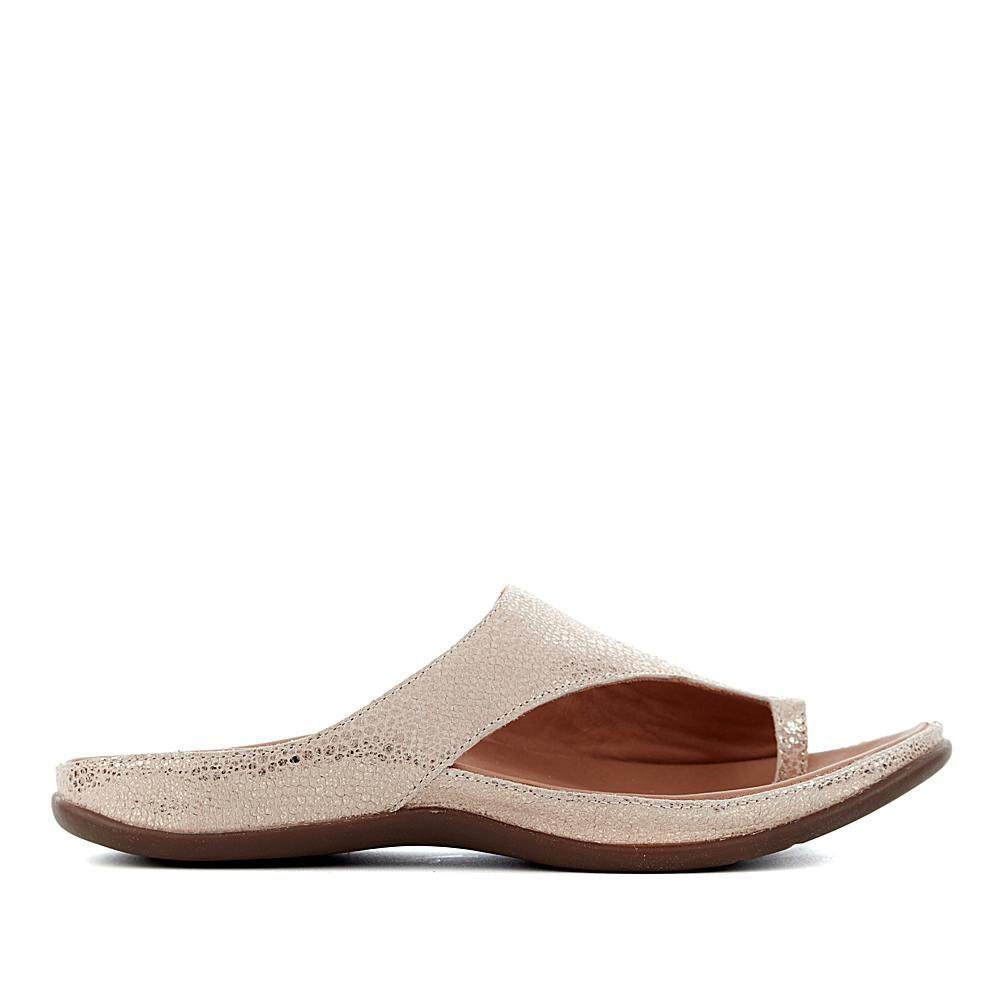 Strive Maui Orthotic Leather Toe Post Sandals Slip On Flat Flip Flops Mules Shoe