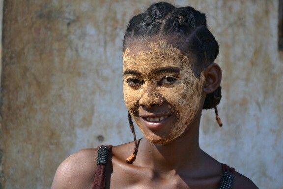 Mujer de Madagascar