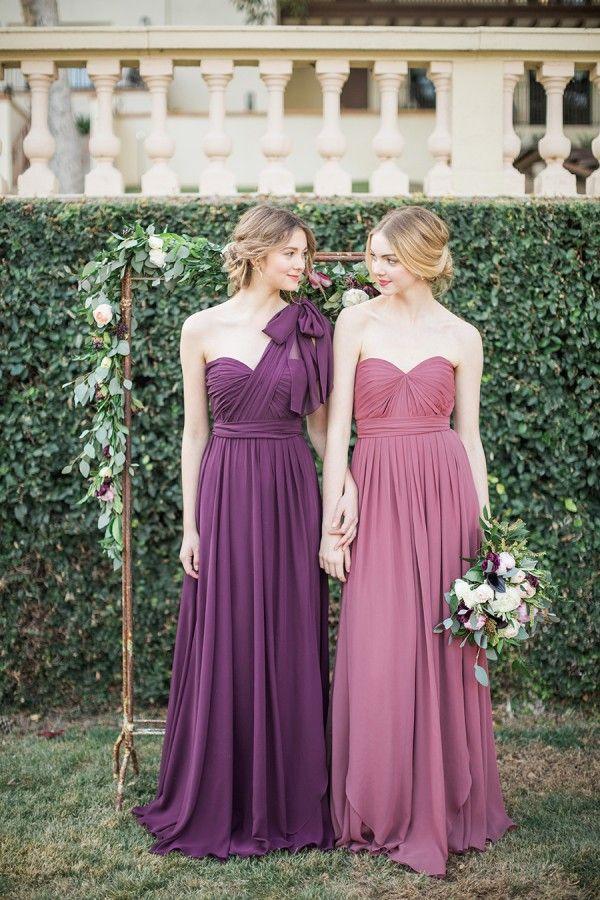 Jenny Yoo 2016 Mismatched Purple Bridesmaid Dresses Http Www Deerpearlflowers