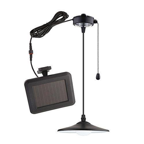 mvpower Lampe solaire LED lumière ampoule Portable Lampe pendentif
