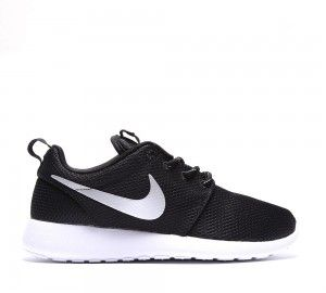 Nike Sportwear Mujer Roshe Run negras MetTodoic Platinum