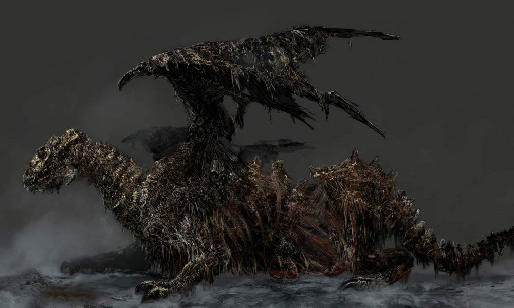 Zombie Dragon By From Software At Creativeuncut Com