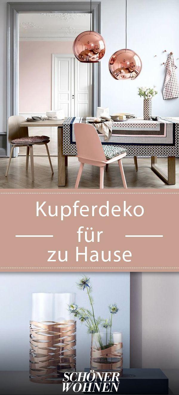 kupfer-deko – warmer schimmer für zu hause | decor | pinterest