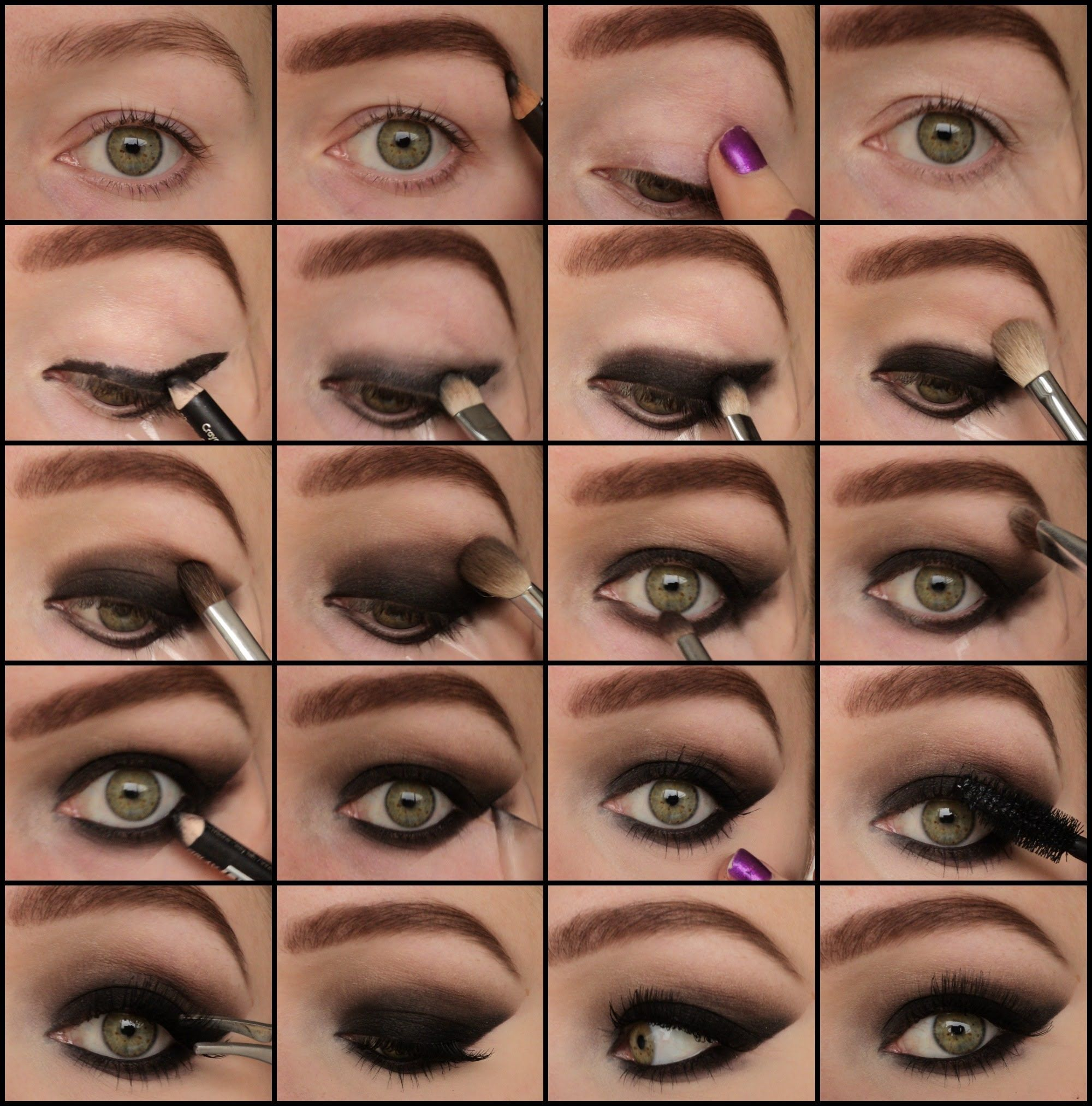 Sexy Smokey Eyes Pictorial