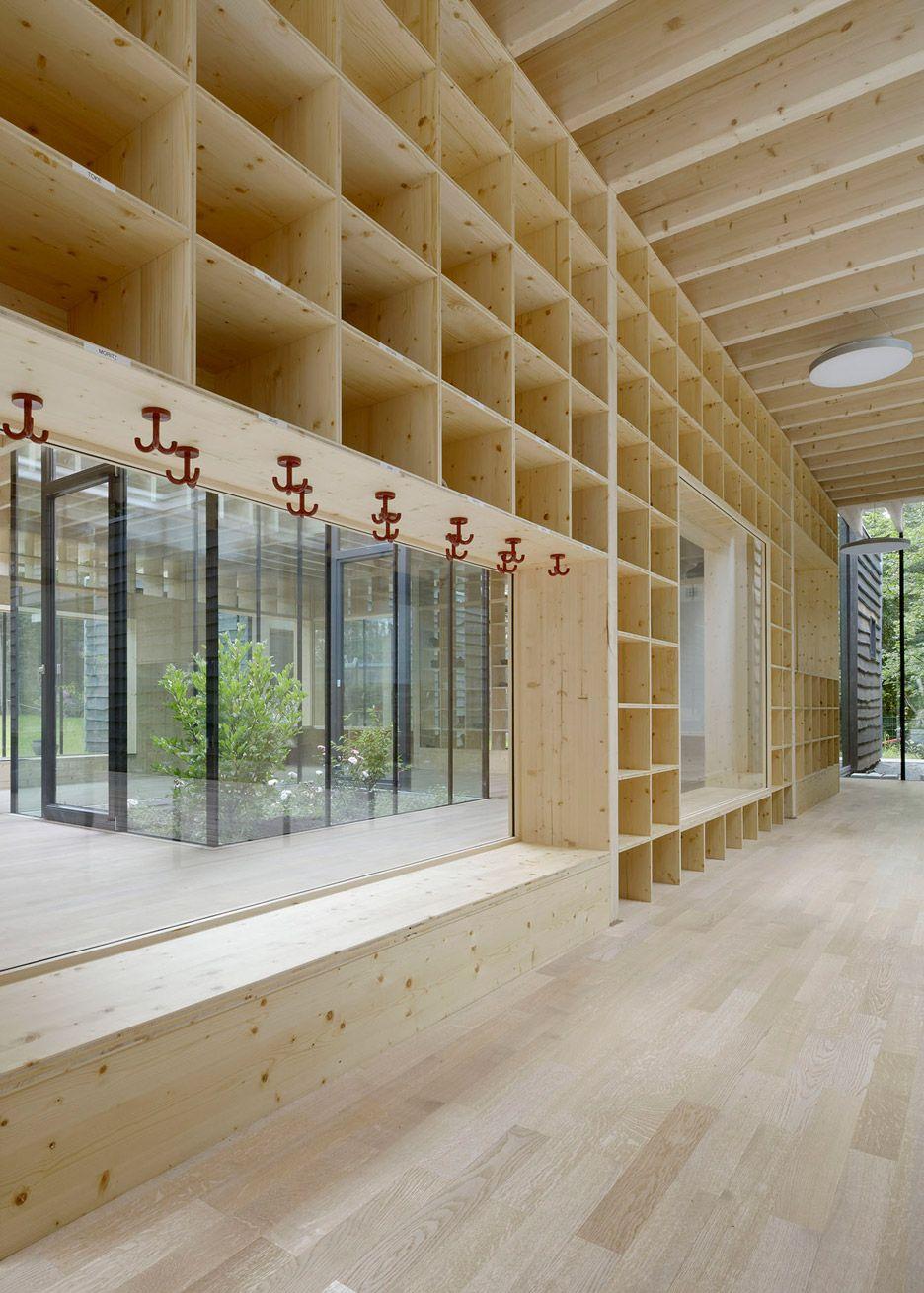 kinderkrippe by kraus schonberg architekten a timber nursery school in hamburg germany. Black Bedroom Furniture Sets. Home Design Ideas
