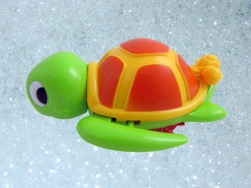 Swimming Turtle Floating Bathtub Bath Toy For Kids By Bathtub Toys 5 95 Cute Turtle Swims And Floats In Water Mo Bath Toys Bathtime Fun Toddlers Water Toys