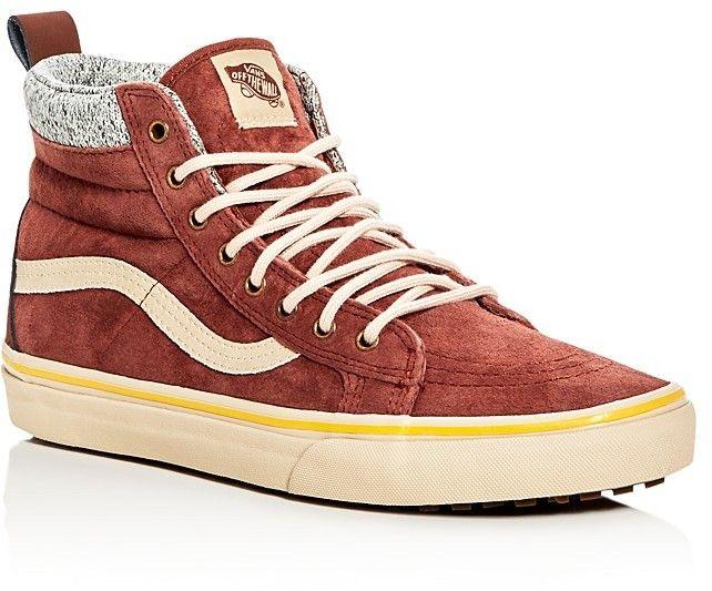 3a456693dd Vans Sk8-Hi MTE High Top Sneakers