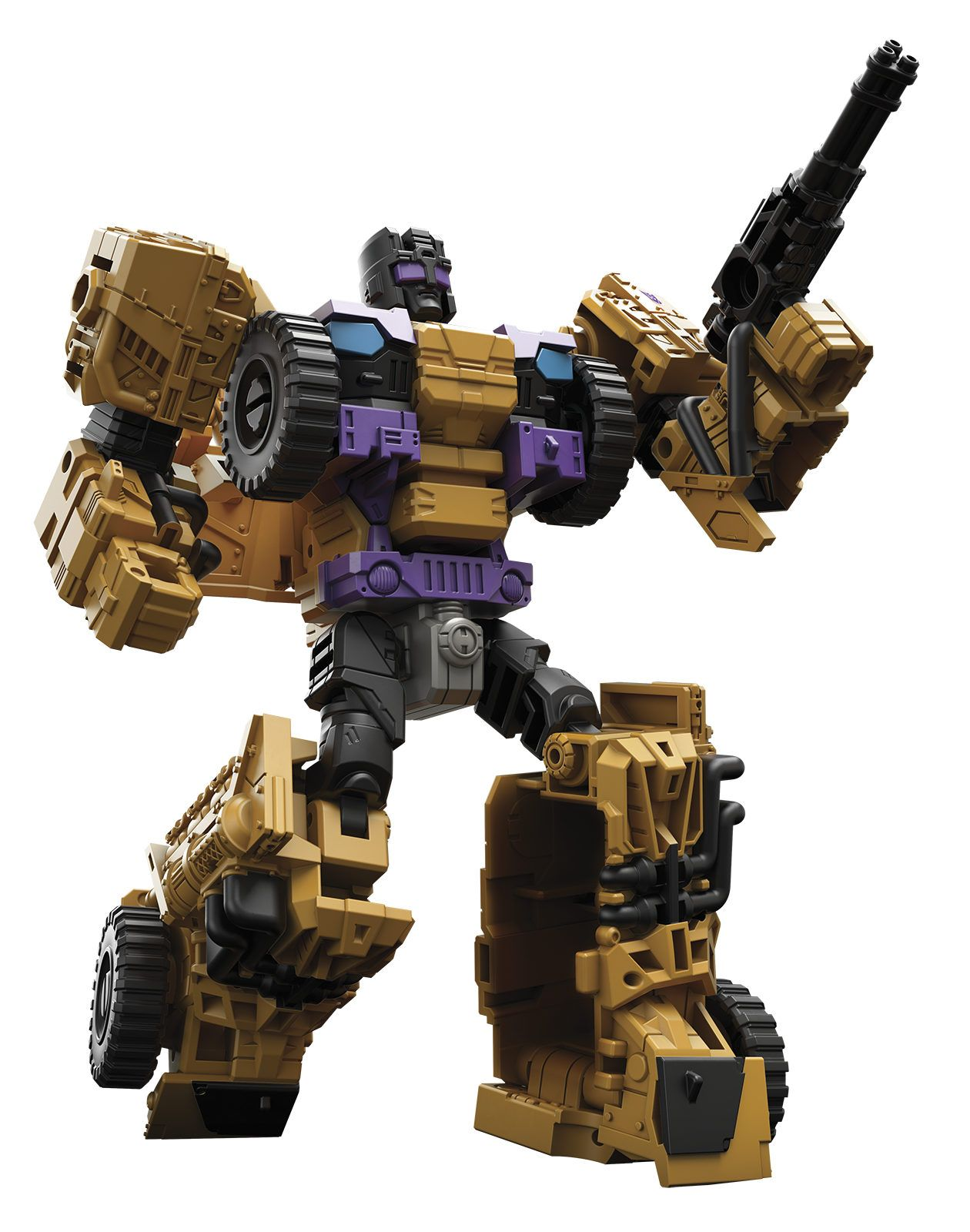 Machine Brawl Transformers Combiner Wars IDW Action Figure Collection Boy Gift