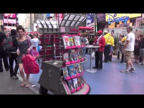 Times Square NYC Experience on Foot