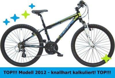 Fahrrad Mtb Mountainbike Checker Pig 24 Zoll 21 Gang Shimano Federgabel Rst Neu