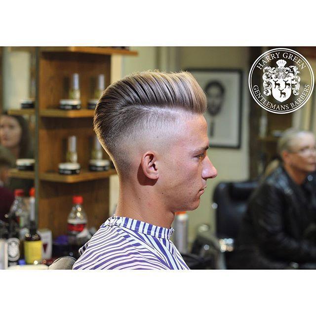 Men's hair cut - fade