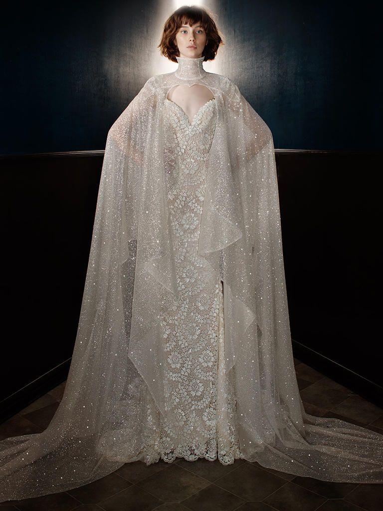Wedding Dress with the Sterling Cape | 'Rayne' by Galia Lahav Spring/Summer 2018
