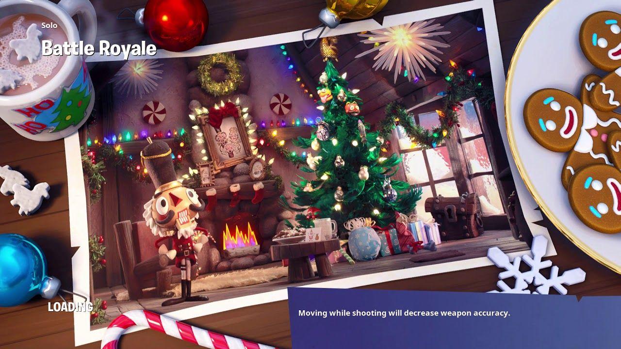 Frozen Axe Gift Of 14 Days Of Fortnite Christmas Wallpaper Gaming Wallpapers Wallpaper