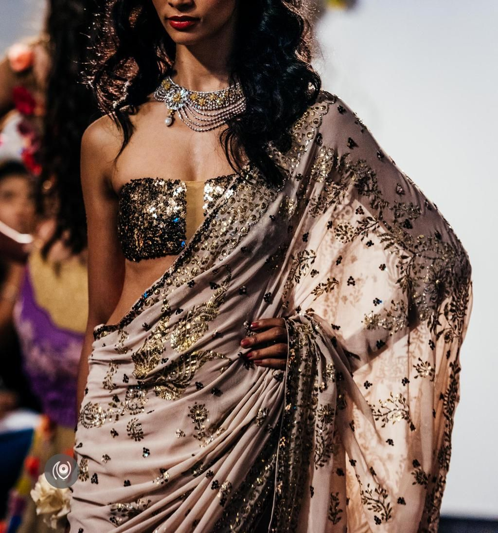 Naina on saree indian outfits and couture