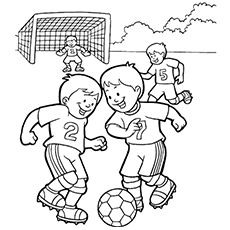 Soccer Ball Coloring Pages Free Printables Momjunction Sports Coloring Pages Football Coloring Pages Coloring Pages For Kids