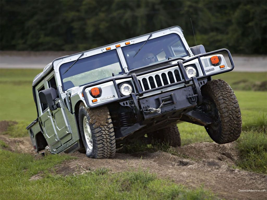 Yes I want a hummer... the original one. To make my own roads! | AM