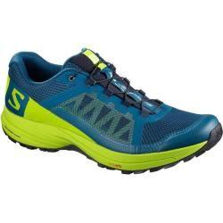 Salomon Herren Trail-Laufschuhe Xa Elevate blau/lime, Größe 44 ? in Poseidon-Lime Green-Black, Größe #hikingtrails