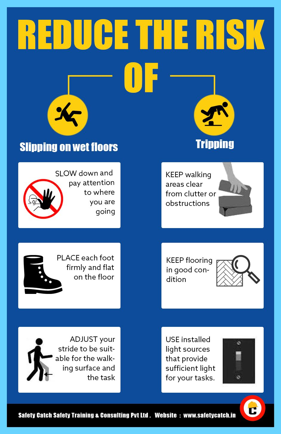 Stay safe in workplace!! SafetyTips Safety tips