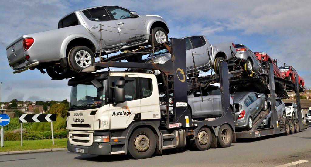 Scania car transporter, Autologic Trucks, Car, Vehicles