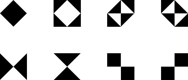 Shape In Art Design Black And White Shape Design Clip Art