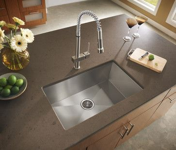 A Contemporary Twist! - contemporary - kitchen sinks - - by Elkay Sinks and Faucets