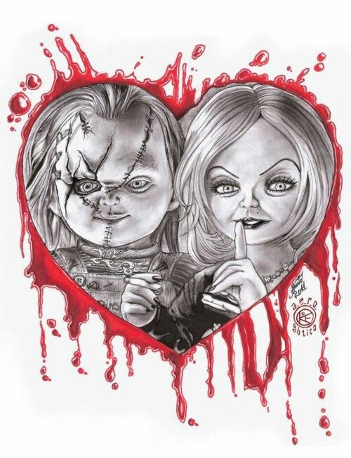 Chucky Love | Tattoos | Pinterest | Chucky, Horror and Movie