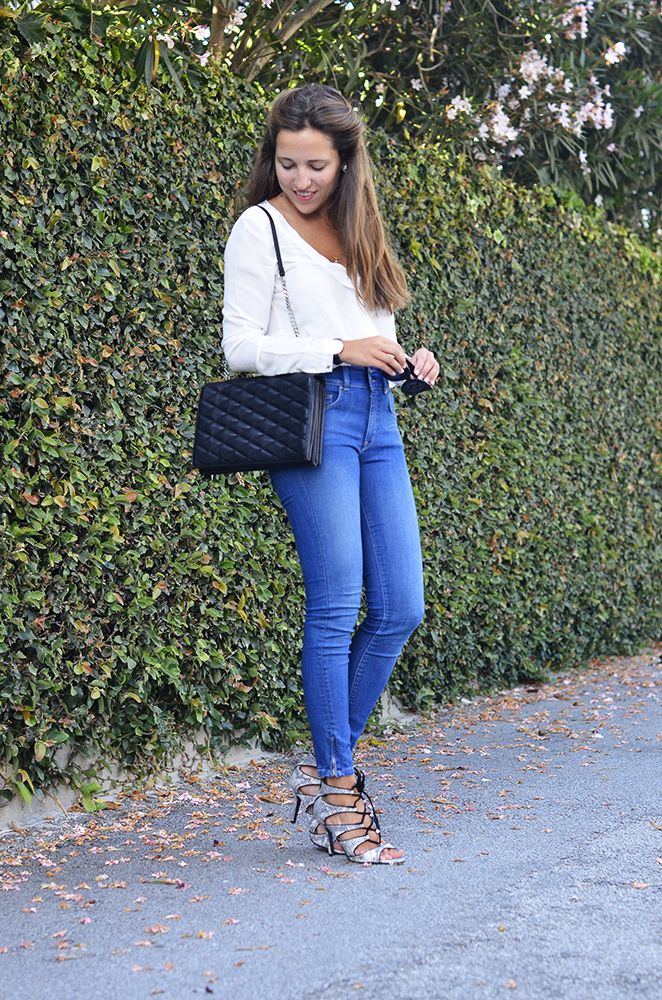 Style by Three Blog - Francisca Flores with a Salsa total look
