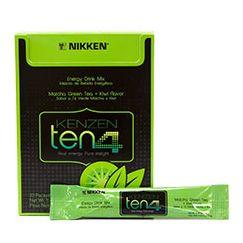 Ten4 energy drink with matcha green tea