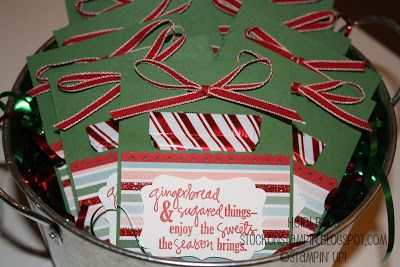 Stuck on Stampin': 12 days of Christmas {projects} - day 9