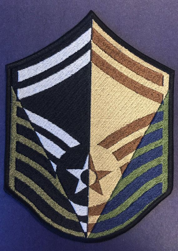 A Career In Stripes Smsgt Military Shadow Box Air Force
