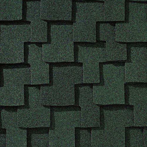Best Moss Green Gaf Designer Roof Shingles Swatch 400 x 300