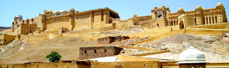 Rajasthan is the largest state in India by area covering a total of 132150 sq miles encompassing the Thar Desert and a section of the Sutlej-Indus river valley.
