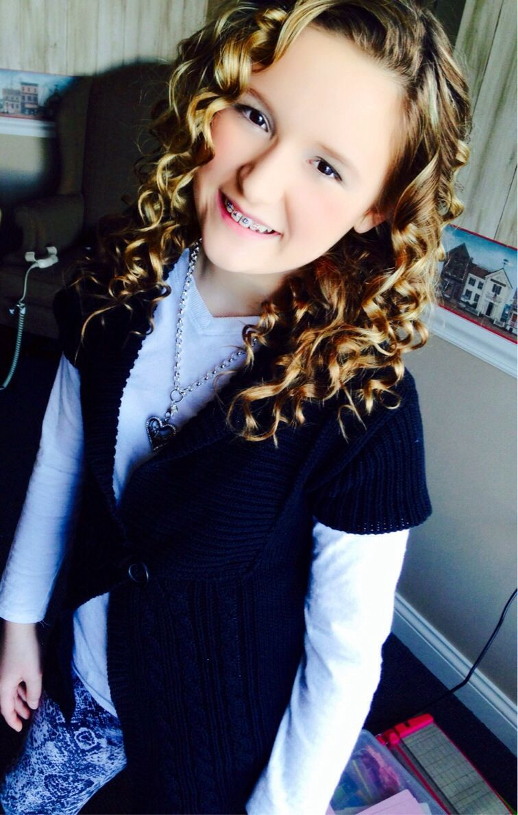 Curled my hair and this is how it turned out!