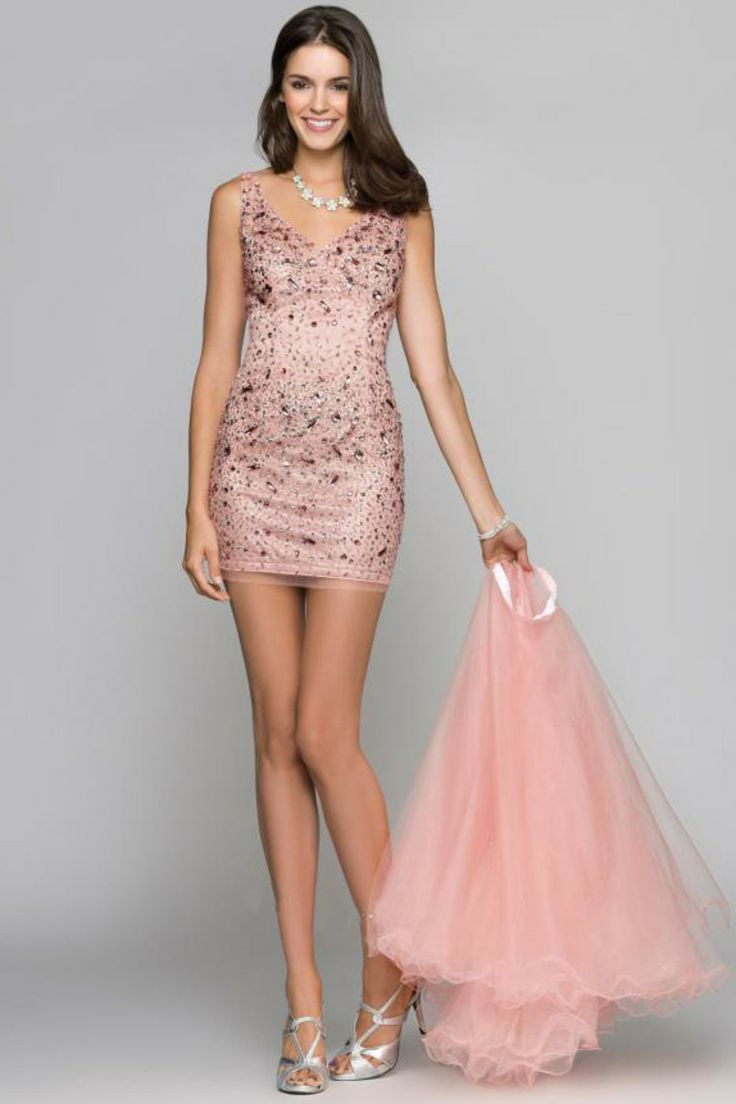 pink junior prom dress | Fashion | Pinterest