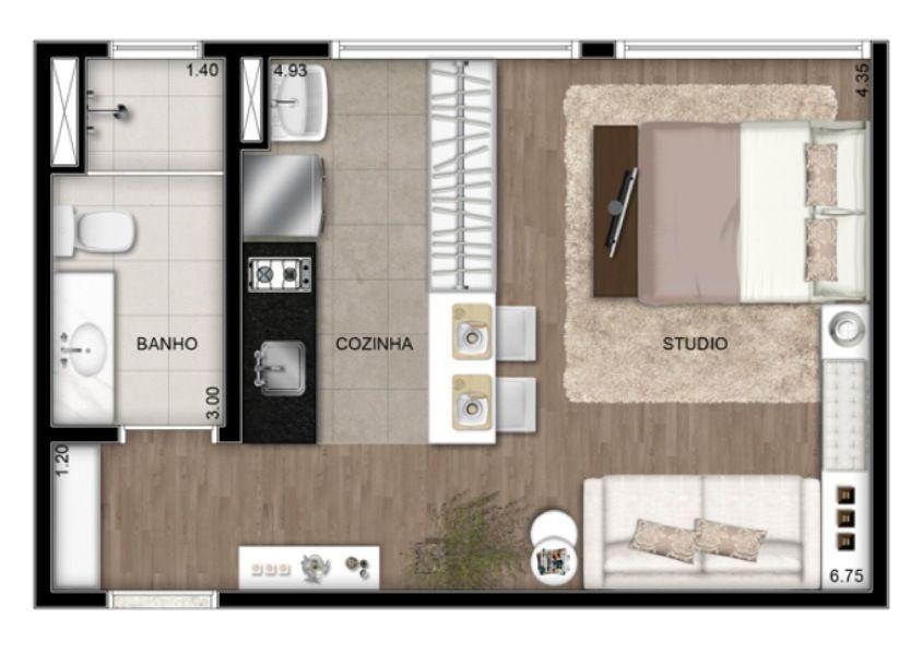 Planta baixa de studios pesquisa google planta baixa for Apartment design 90m2