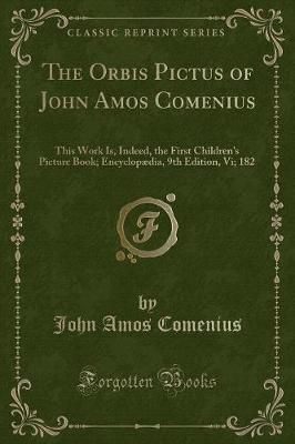 [PDF DOWNLOAD] The Orbis Pictus of John Amos Comenius