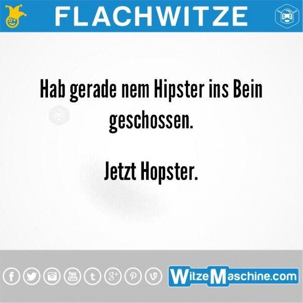 Flachwitze #248 - Vom Hipster zum Hopster