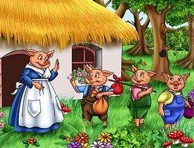 Blog De Los Niños Los Tres Cerditos Los Tres Cerditos Cerditos Cuento Tres Cerditos
