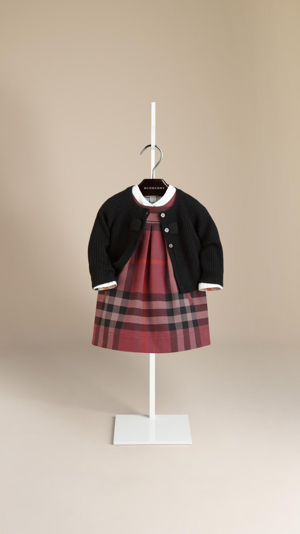 Cardigan En Cachemire Avec Nœud Burberry Style Petite Fille Vetements Filles Robe Petite Fille