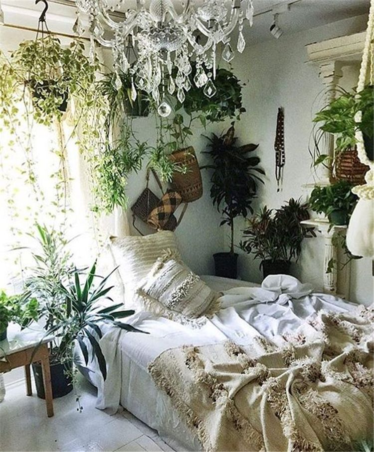 48 Bedroom Decor Fascinating Ideas on a Budget for 2019 ... on Boho Bedroom Ideas On A Budget  id=90077
