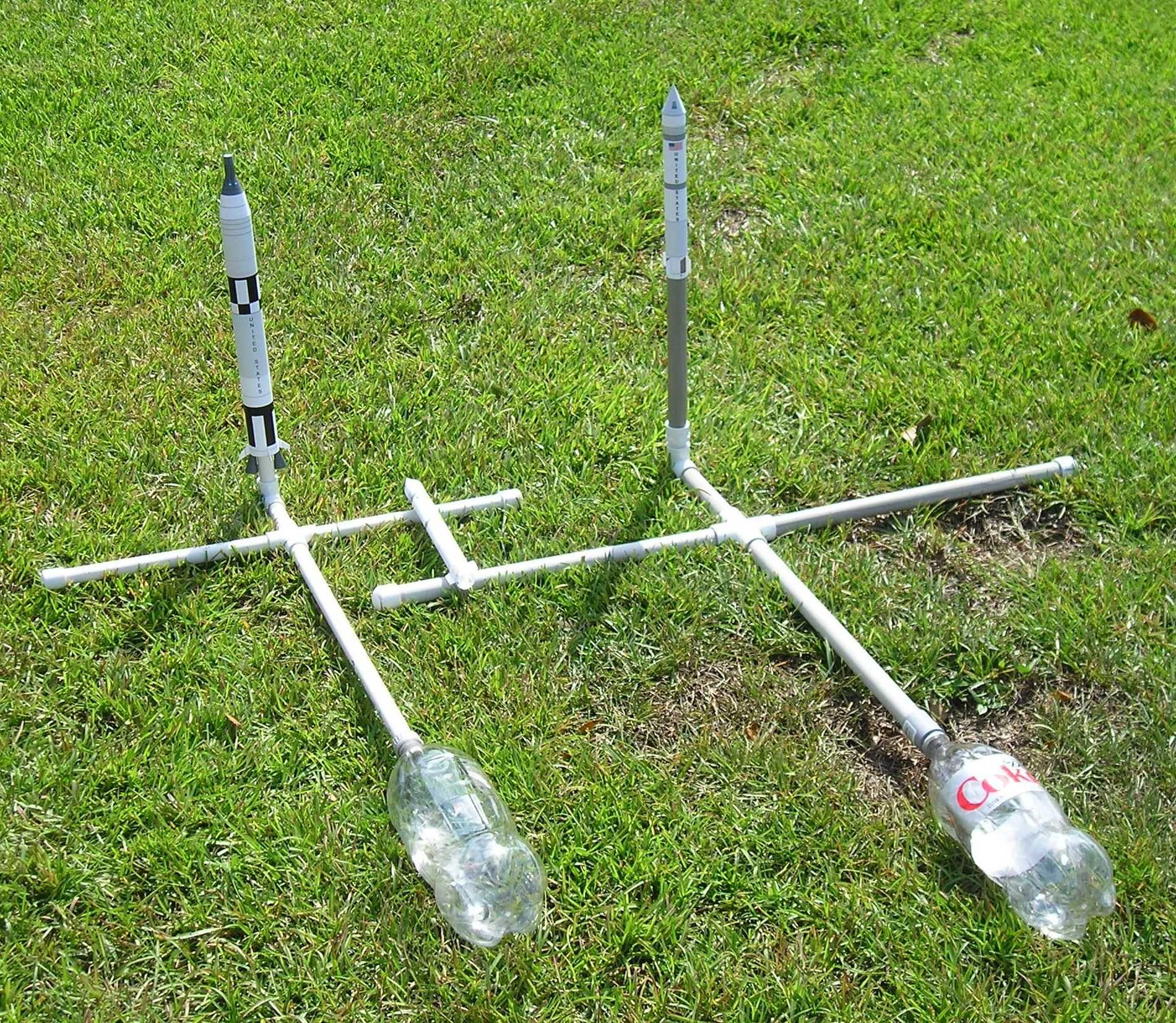 Water Bottle Rocket Launcher: Bottle Rocket Paper Rockets