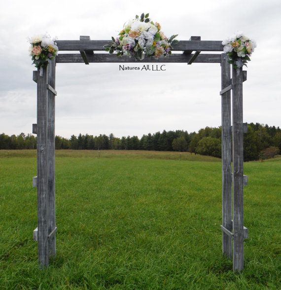 Ladder Wedding Altar: Rustic Wedding Ladder Arch/Country Wedding Decor/Rustic