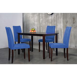 Superieur @Overstock.com   Warehouse Of Tiffany 7 Piece Royal Blue Shino Dining Set
