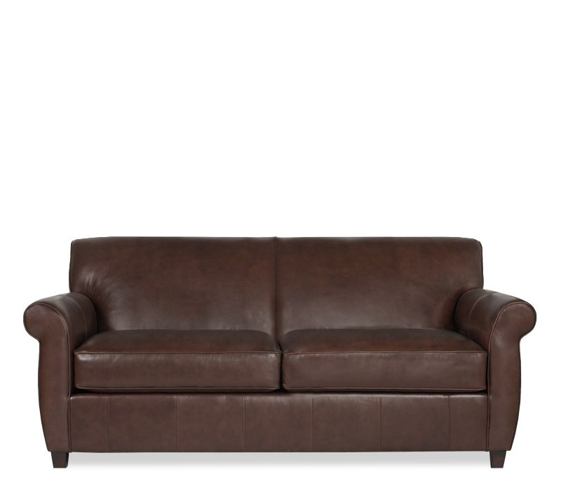 Boston Interiors: Naples Leather Apt Sofa (current Couch We Have)