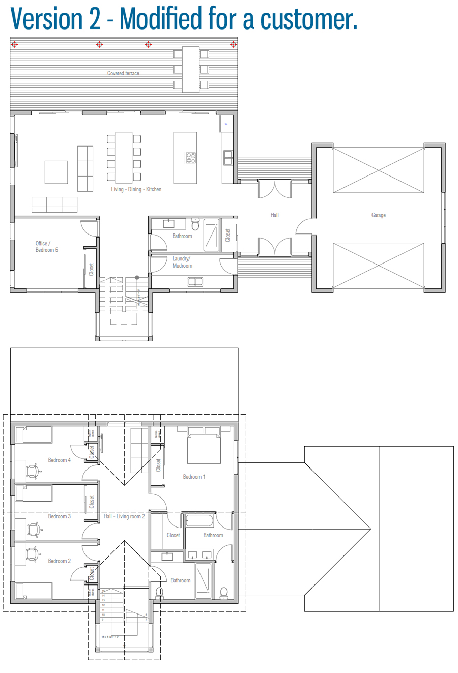 Customer House Plan Ch597 House Plans How To Plan New House Plans